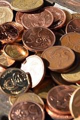 Geld aus Kupfer